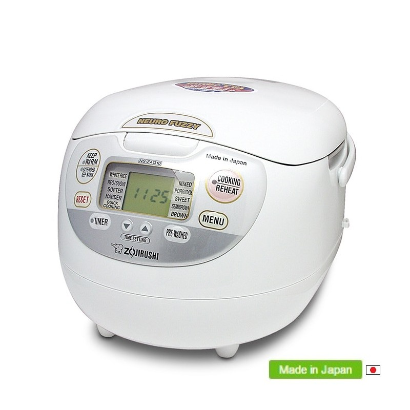 zojirushi fuzzy logic rice cooker cuiseur riz ns zaq10 18 wz. Black Bedroom Furniture Sets. Home Design Ideas
